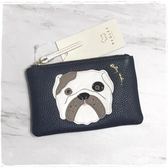 b5516646c4 RADLEY LONDON Bags   Nwt Bulldog Coin Purse Pouch   Poshmark